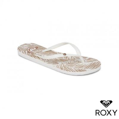 【ROXY】BERMUDA PRINT 夾腳拖 米色