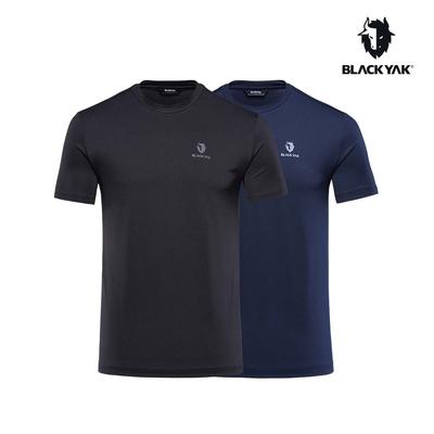 【BLACK YAK】ECO 短袖圓T兩件組[黑/藍]