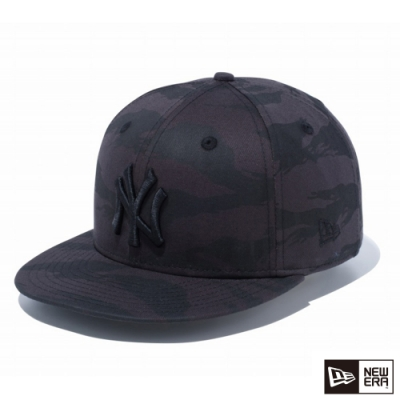 NEW ERA 9FIFTY 950 LOGO NY 黑/黑 棒球帽