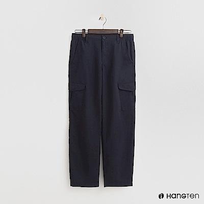 Hang Ten - 男裝 - ThermoContro-鬆緊口袋休閒褲-藍
