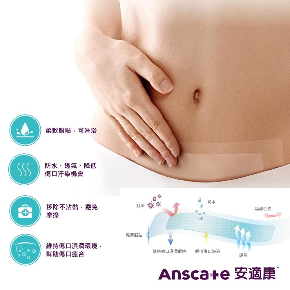 安適康AnsCare 水凝敷料(滅菌)-30x170mm/入