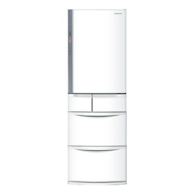 [館長推薦] Panasonic國際牌411公升五門變頻冰箱NR-E414VT-W1晶鑽白