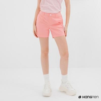 Hang Ten-女裝-REGULAR FIT經典短褲-粉紅色