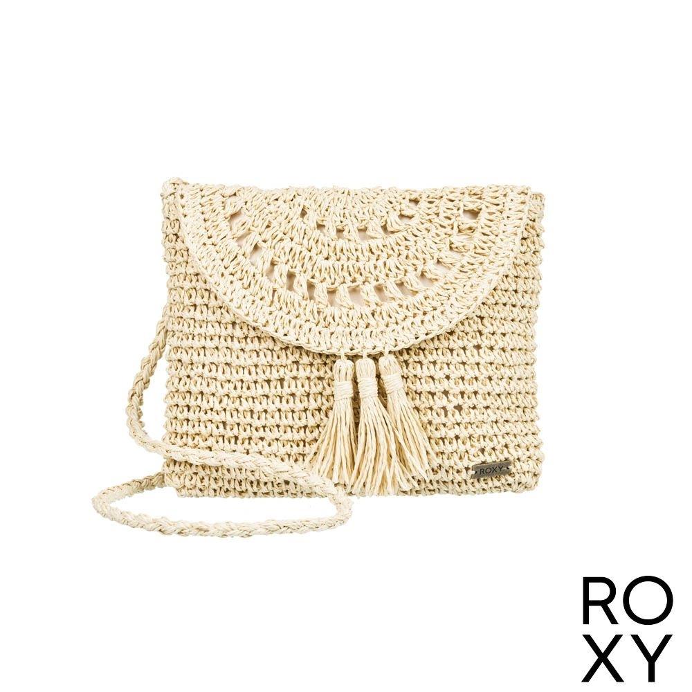 【ROXY】SAY ALOHA 肩背包 米黃
