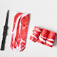 Wazi-萬聖節骷髏肉肉印花短襪 (1組三入) product thumbnail 1