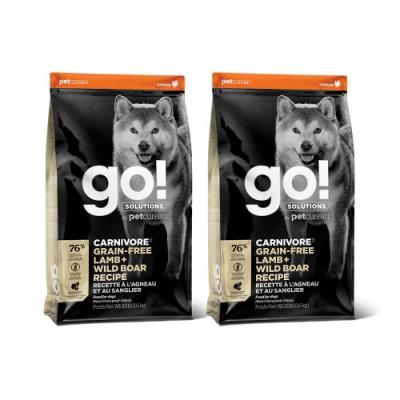 Go! 牧羊野豬 76% 高肉量 全犬3.5磅兩件優惠組
