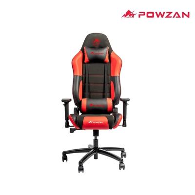 POWZAN CR-GC603 3D立體包覆遊戲賽車椅 電競椅 - 黑紅