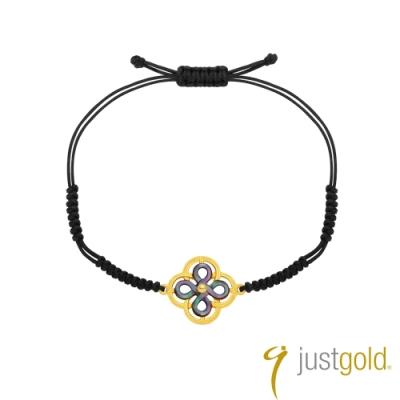 鎮金店Just Gold 喜‧如意純金系列 黃金手鍊(手繩)