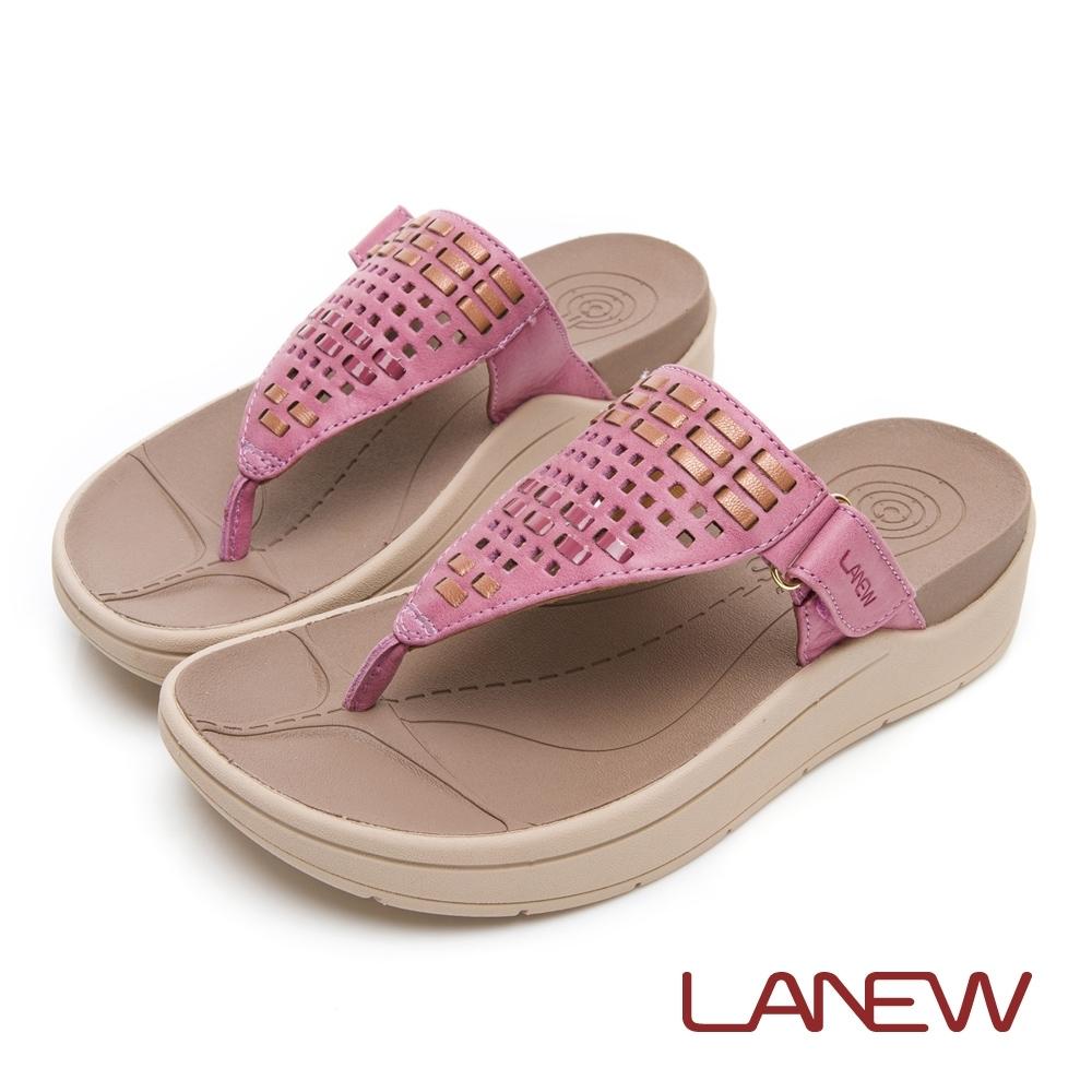 LA NEW Bio DCS 編織風格配色夾腳拖鞋(女225080251)