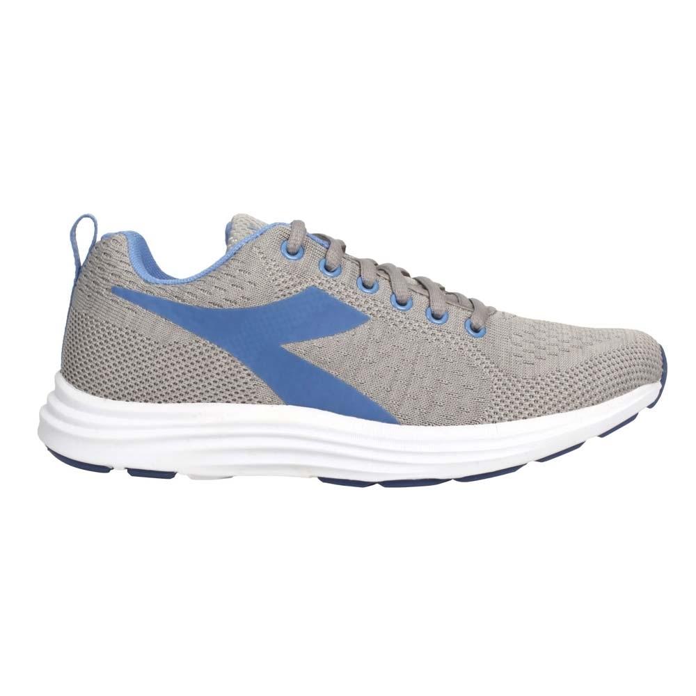 DIADORA 女進口慢跑鞋-避震 透氣 透氣 DA175597-C2035 灰粉藍