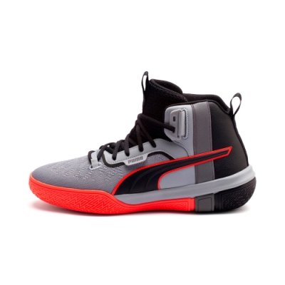 PUMA-Legacy Disrupt 男性復古籃球運動鞋-黑色