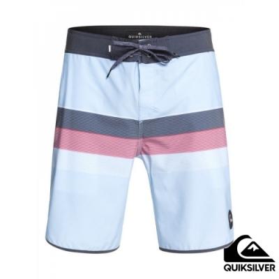 【QUIKSILVER】SEASONS BEACHSHORT 20吋衝浪休閒褲 藍