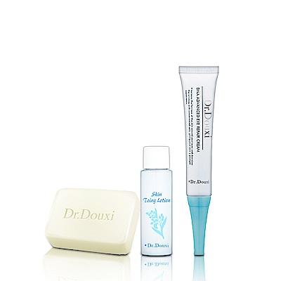 Dr.Douxi 朵璽 DNA特潤亮眼修護霜 20ml  送健康水30ml+卵殼皂27g