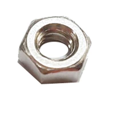 SV-010 不鏽鋼六角白鐵 螺絲帽 6.8 X 3 mm  100支/包