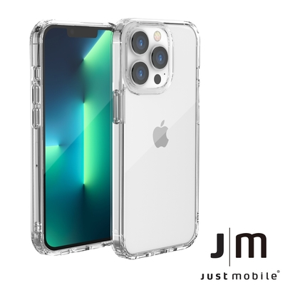 Just Mobile iPhone 13 Pro TENC Air 透明氣墊抗摔殼
