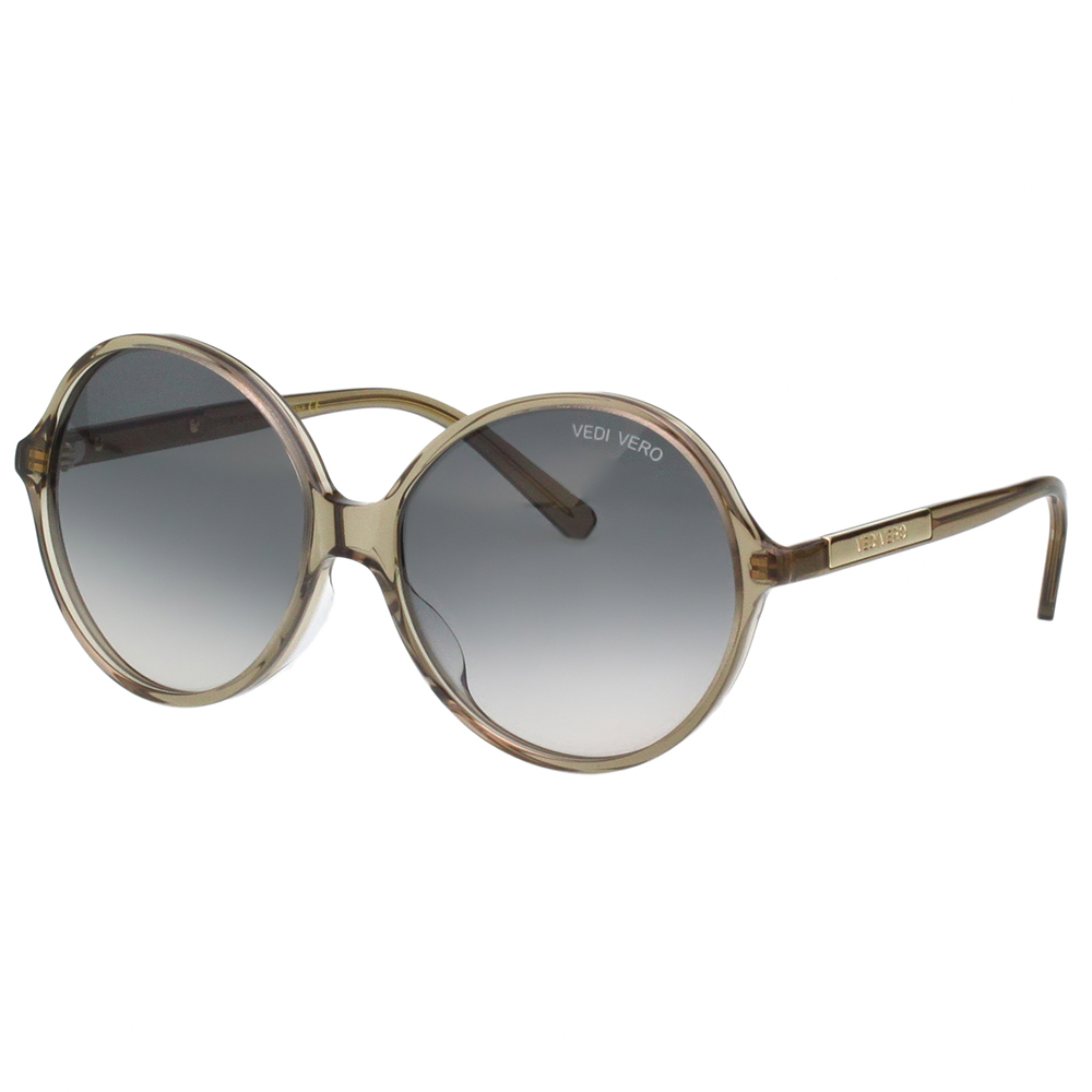VEDI VERO 圓框 太陽眼鏡 (透明灰色)VE805