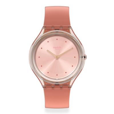 Swatch SKIN超薄系列手錶 SKIN AMOR 超薄-幸運粉紅-36.8mm