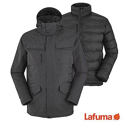 Lafuma 男 HUDSON 二件式防水保暖外套 黑 LFV108687523
