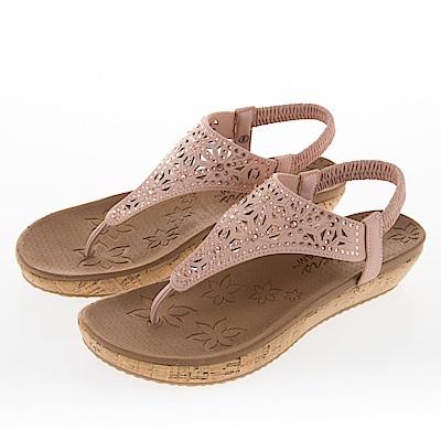 SKECHERS 女 休閒系列 涼拖鞋 BRIE - 32832PNK