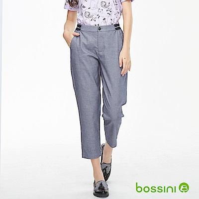 bossini女裝-彈性修身褲03海軍藍