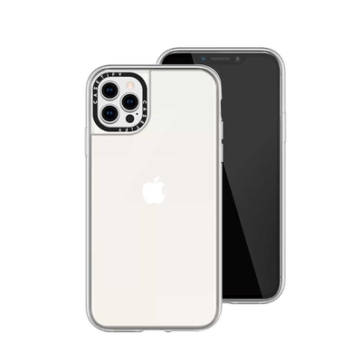 Casetify iPhone 12/12 Pro 輕量耐衝擊保護殼-透明