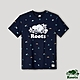 Roots男裝-海洋友善系列 海洋印花短袖T恤-藍色 product thumbnail 1