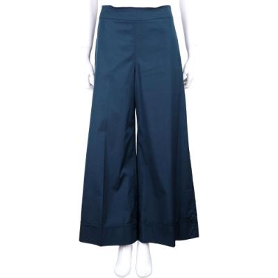 MAX MARA-'S Max Mara 深藍色棉質大寬口長褲