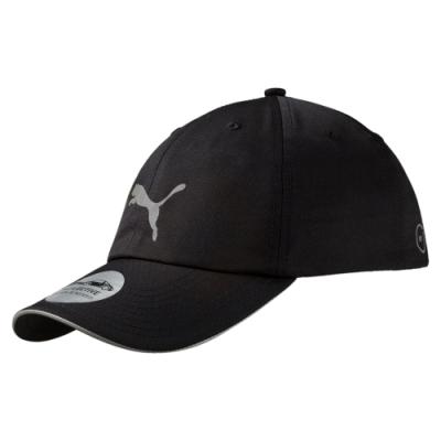 PUMA-男女慢跑系列棒球帽-黑色