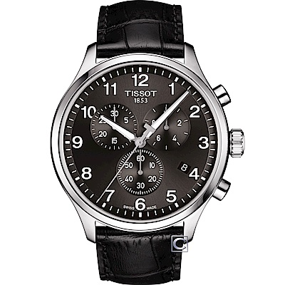 TISSOT天梭Chrono XL韻馳系列經典計時腕錶(T1166171605700)