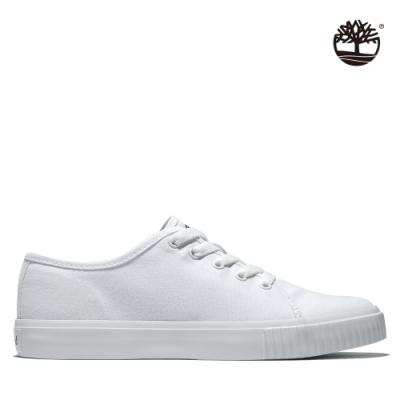 Timberland 女款白色Skyla Bay帆布鞋|A2FHC