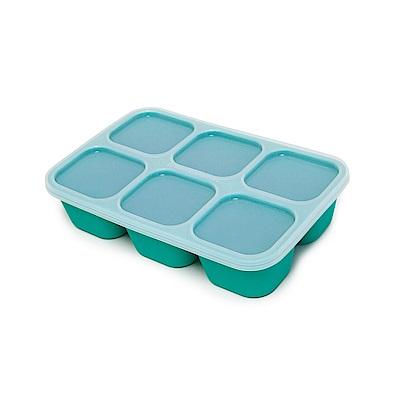 【MARCUS&MARCUS】動物樂園造型矽膠副食品分裝保存盒-大象(綠)