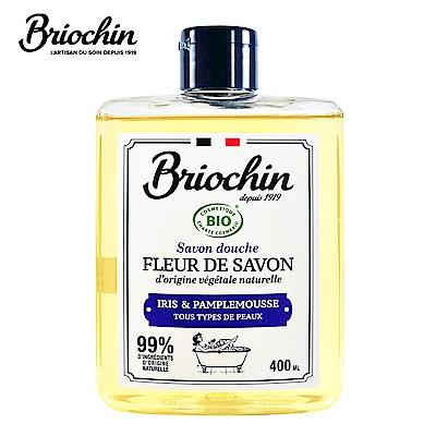 Briochin depuis 1919 天然香氛沐浴乳-清新鳶尾葡萄柚 400ml