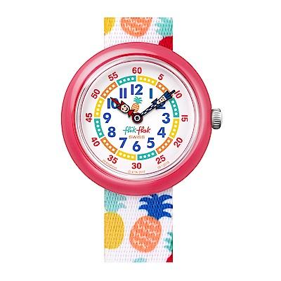 FlikFlak 兒童錶 NANANAS 熱帶樂園手錶