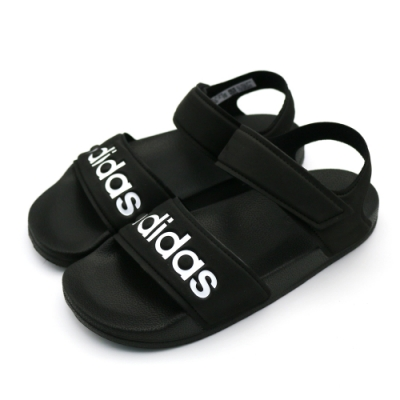 ADIDAS ADILETTE 中大童涼鞋-G26879(黑色)