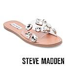 STEVE MADDEN-ROSALYN-寶石鑲嵌一字拖-銀色