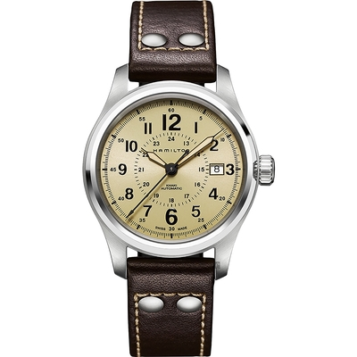 Hamilton 漢米爾頓 KHAKI FIELD 軍事飛行戰鬥員機械錶-40mm H70595523