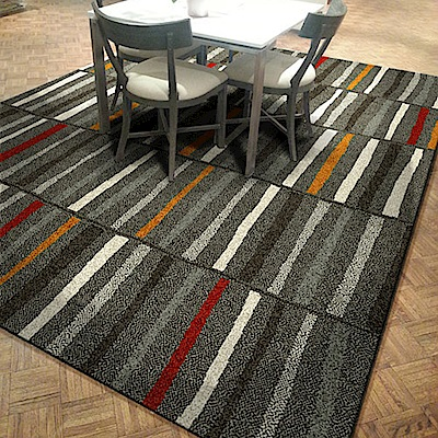 艾斯-多彩柔軟立體層次進口地毯-200x290cm