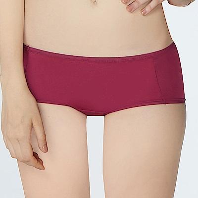 瑪登瑪朵 Soft Up  低腰平口萊克褲(莓紫)