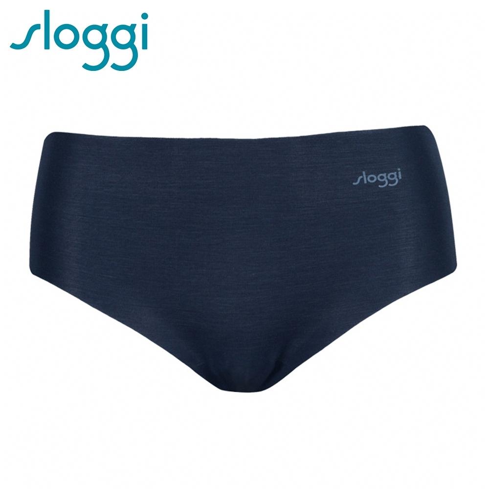 sloggi ZERO Modal 零感波浪型平口無痕褲 夜空藍