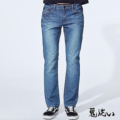 鬼洗 BLUE WAY 經典鬼洗-755復刻直筒褲(淺藍)