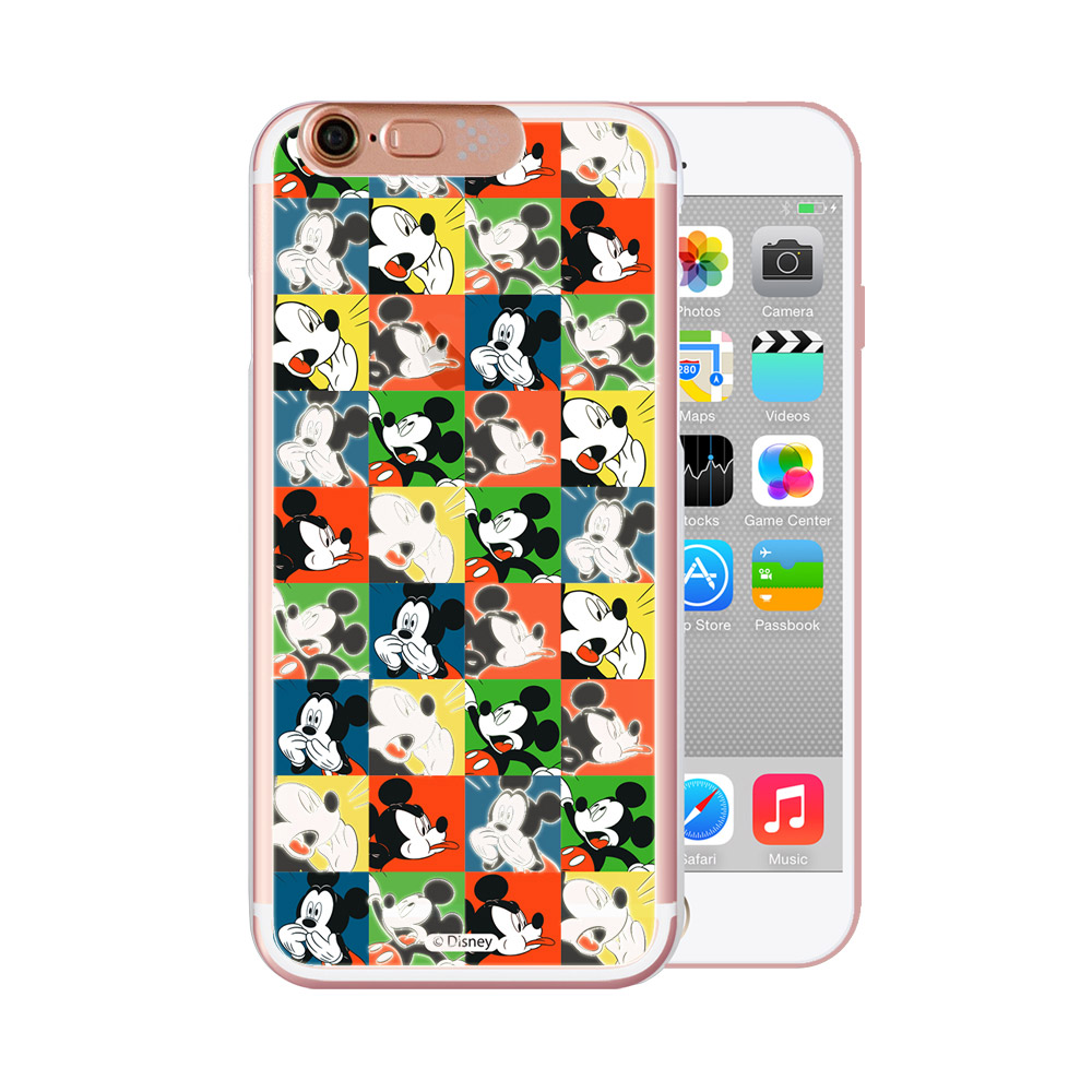 OpenBox Tiziani  iPhone6/ 6S 可愛爆閃手機殼 - 經典方格米奇