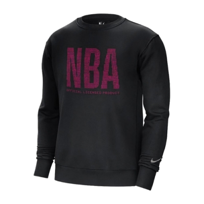 Nike T恤 Team 31 Essential 男款 NBA 圓領 棉質 內刷毛 寬鬆 黑 粉 CV4424010