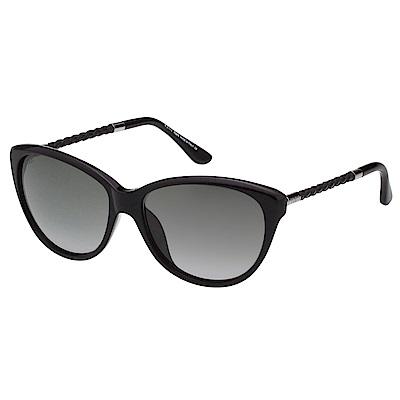 TOD'S 編織系列太陽眼鏡(黑色)TO9082