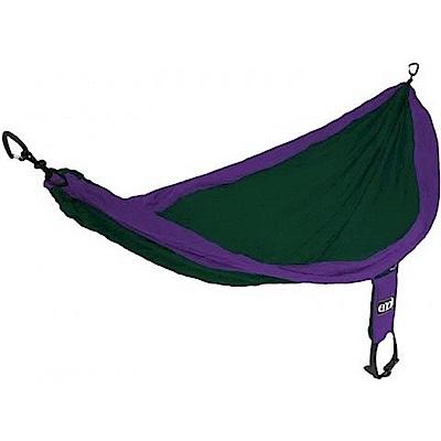 ENO SingleNest Hammock 單人吊床 紫/森林綠
