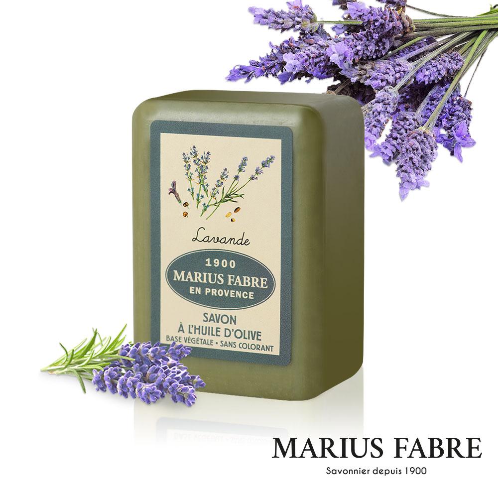 法國法鉑-天然草本薰衣草橄欖皂-250g/顆