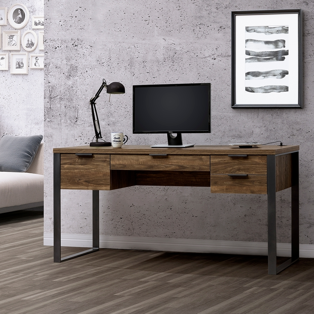 ALBBBRT  5尺書桌附USB/DIY組合產品寬150*深60*高76.2公分