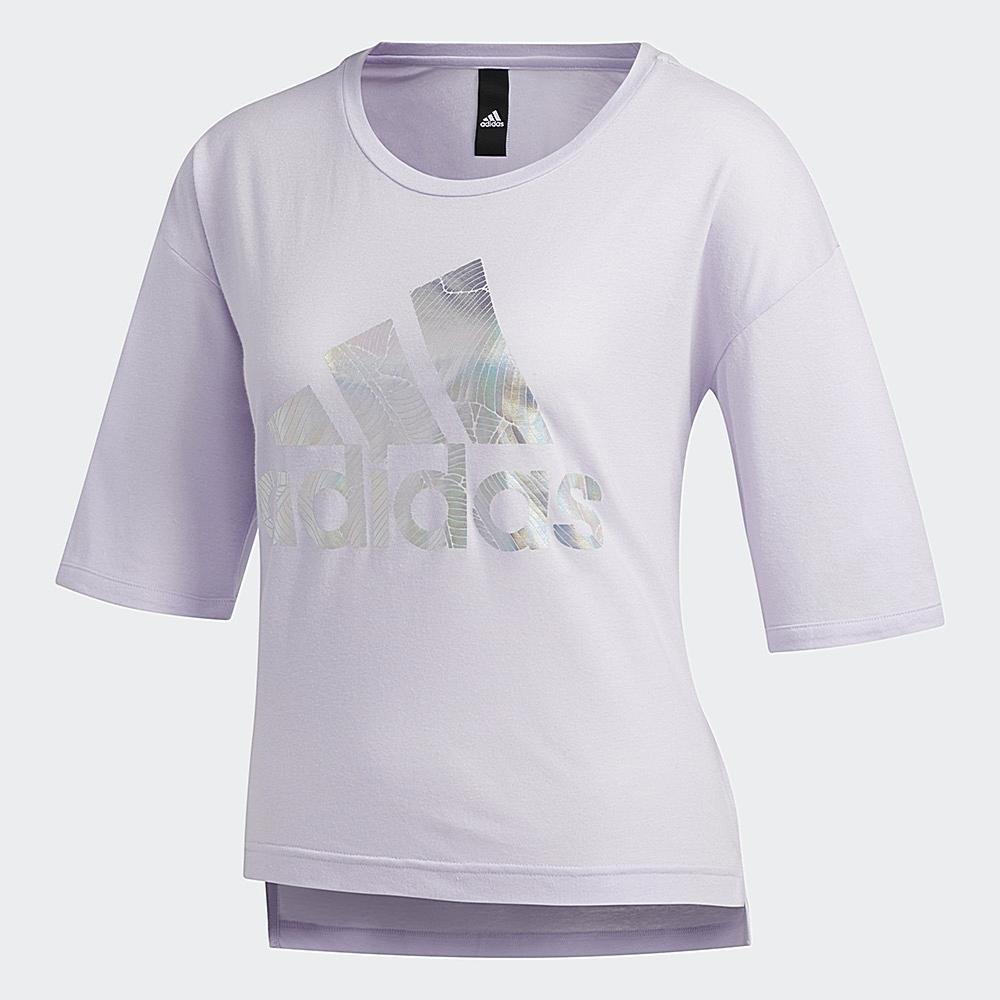 adidas LOGO 短袖上衣 女 FM1657