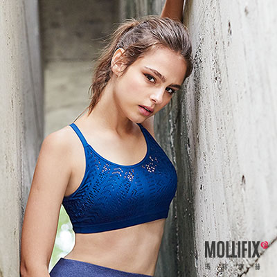 Mollifix 瑪莉菲絲 高調A++輕盈呼吸BRA (藏青)