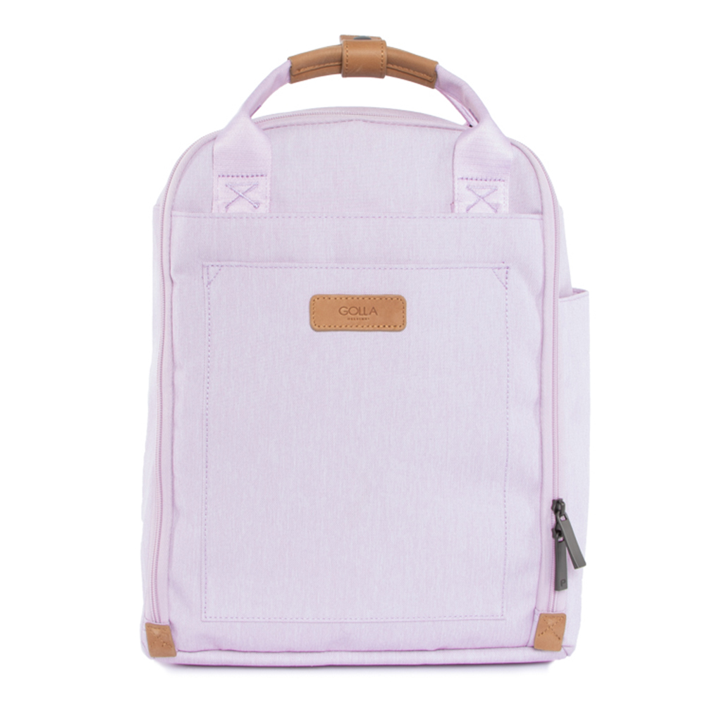 GOLLA 北歐芬蘭時尚極簡後背包- G2199 薰衣紫 13吋