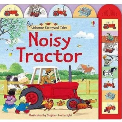 Noisy Tractor 轟隆轟隆的拖拉機精裝硬頁有聲書